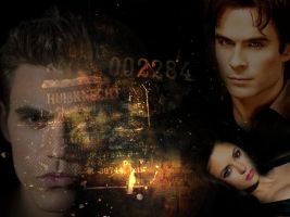The Vampire Diaries. by Dark-Flame-Babee