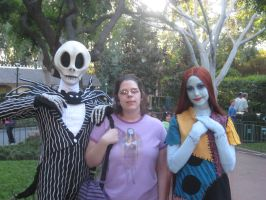 Meeting Jack and Sally by PrincessCarol