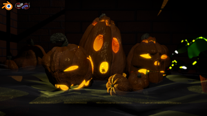 Free Halloween Blender File by SEspider