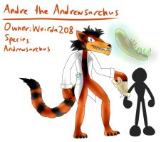 Andre the Andrewsarchus (Revived) by TipsyRa1d3n