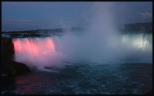 The horsefalls at night by AuTuMn-Lee