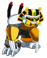 Pharaoh Electivire Sprite by Greasiggy