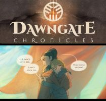 The Dawngate Chronicles - Page 30 Preview by nicholaskole