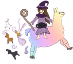 Mana the Llama Witch by Managodess