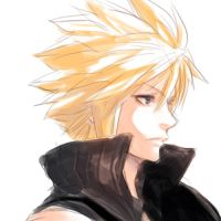 final fantasy ac - cloud by evilgun