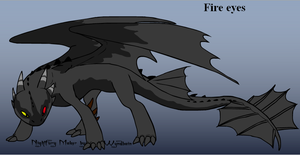 Fire eyes by SPAC3D3AD