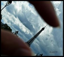 with two fingers... by izoard781