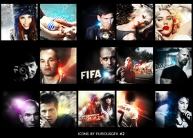 Icons by FuriousGFX #2 by Furi0us14