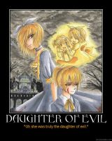 Daughter of Evil Motivational by HC-IIIX