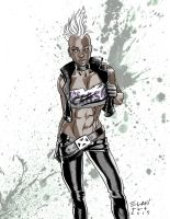 80's Punk Storm by theory-of-everything