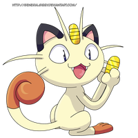 My Favorite Normal Type 2014- Meowth by GeneralGibby