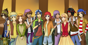 The Bandanna Club by Yuki-Hime13