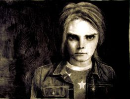 Gerard Way by infectedNcontagious