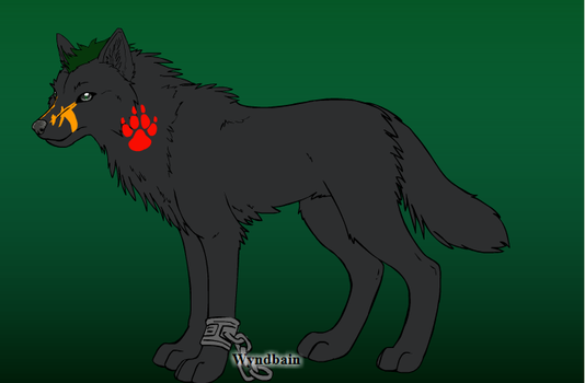 Mere the wolf by Ben39402