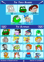 Deviants Crossover Olympics 2014 (FULL) by LaptopGeek92