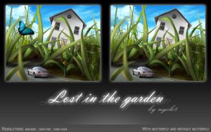 Lost in the garden by nyolc8