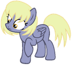 MLP:Derpy x Blinkie Pie Adoptable (OPEN) by kiananuva12