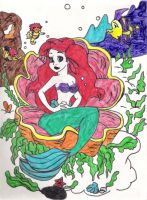 the little mermaid by fairychamber