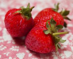 Day 229: All you need are strawbs! by Kaz-D