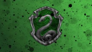 Hogwarts House Wallpaper : Slytherin by TheLadyAvatar