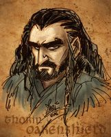 Thorin Oakenshield by marimoreno