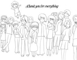 Thank you, everyone by TUNSEM