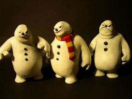 Snowmen by 13TH-LEGION-DESIGNS