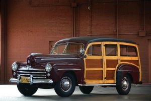 1948 Ford Super Deluxe Woody Station Wagon by ThexRealxBanks