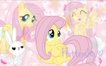 ~Fluttershy Background~ by StarCatcherZ