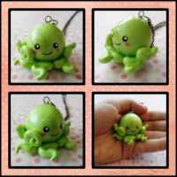 Octopus Necklace by cheese-cake-panda