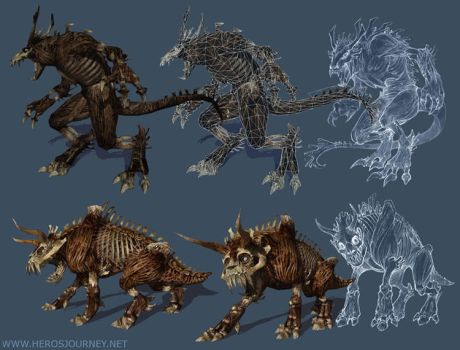 Hero's Journey Creatures 1 by tracyjb