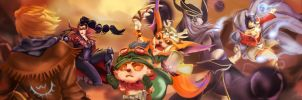 League of Legends FaceOff Contest by BaconLovingWizard