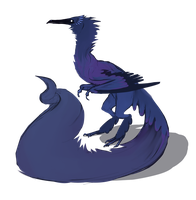 Corvid Design Auction (Closed) by ToothlessEgo