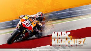 Marc Marquez Wallpaper by Hyperion Ogul 92 by hyperion-ogul-92