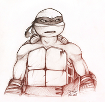 Dark Raph Sketch Trade by Nashimus