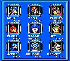 Megaman: *Instert Title Here* Stage Select by Cyberguy64