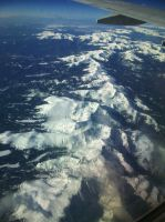 The Rocky Mountains by Fl33tingshadoW