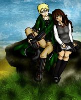 Draco and Hermione II by IcyPanther1