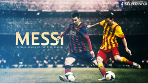 Lionel Messi 2014 Wallpaper HD by SelvedinFCB