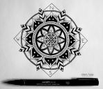 Compass Mandala by DreamCreate