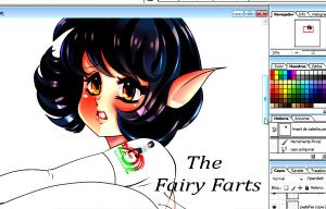 FAIRY FART COLOR AND NEW STYLE by kiokusanagui