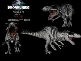 Indominus rex : Primal Carnage Extinction version by pyroraptor19