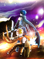Naruto and Sasuke(ANBU)-Happy B-day Dogi (1 ver) by Ssabinka