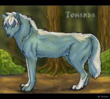 Towanda Wolfess Comish by TheTyro