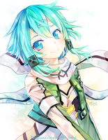Sinon [Sword Art Online] by KiwiKuru