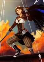 Steam Punk Mistress 9 by Furby0305