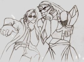the Elric Brothers by 1-Aloha-1
