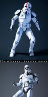 Stormtrooper-Dance Poses by pavolsvk