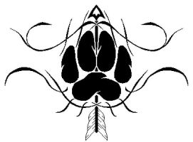Wolf Paw Tattoo by TalentWasted