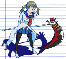 Spartoi Maka and Soul by Kamden